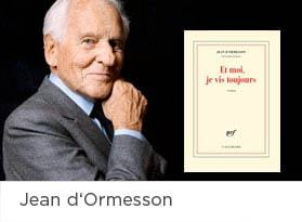 ebooks Jean d'Ormesson
