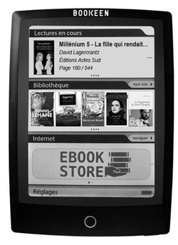 Liseuse pour ebooks - Cybook Odyssey Frontlight2