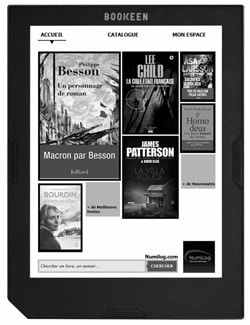 Liseuse pour ebooks - Cybook Muse Frontlight