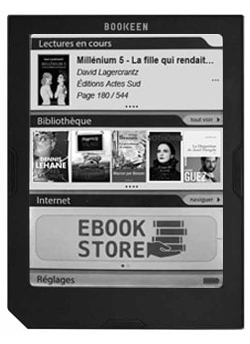 Liseuse pour ebooks - Cybook Muse Light